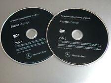 2019-2020 Map DVD for Mercedes NTG2.5 navigation unit sat nav update disc