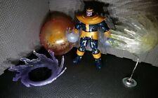 Thanos & custom infinity translucent effects lot marvel legends baf figure war