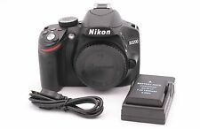 Nikon D3200 24.2MP Digital SLR Camera - Black (Body Only) - Shutter Count: 1050