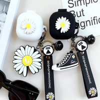 For Samsung Galaxy Buds Pro/Live Flower Protective Cover Case With Key buckle