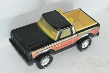 Vintage Nylint Moto-Cross Pick Up Truck Motorcross Team Black Jeep