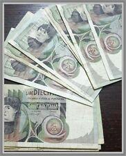 Biglietti di banca Repubblica Italiana 10000 Lire Del Castagno  1978 -1980 mb