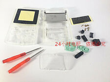 Mt Transparent Housing Shell Case W/Screwdrivers for Nintendo GBC Gameboy Color