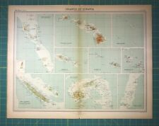 1920 1929 date range antique world atlas maps ebay pacific islands hawaii fiji vintage 1922 times world atlas antique folio map gumiabroncs Image collections