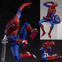6'' Marvel The Amazing Spider-Man Figma199 Spiderman Action Figure PVC Toy