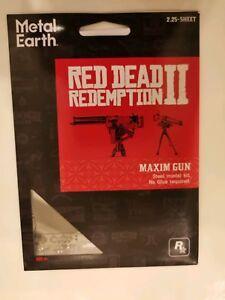 Red Dead Redemption 2 Metal Earth Maxim Gun model kit