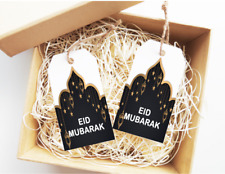 15x Eid Mubarak Tags Ramadan Labels Personalised Tags