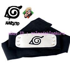 Naruto Headband Konoha Leaf Village Ninja Headband Sasuke Kakashi Cosplay