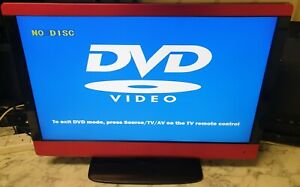 """23"""" LCD 1TV/DVD LOGIK (LCD 23-23LBR-G), with remote and power adopter lead."""