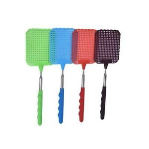 Extendable Fly Swatter Mosquito Bug Telescopic Expand Control New Pest  Hot