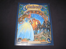 Cinderella Adult Coloring Book  by Herb Leonhard  Brand New PB