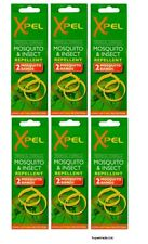 Adult Xpel Tropical Formula Mosquito & Insect Repellent Bands (Deet Free) X 6