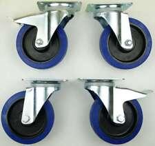 1 ensemble SL 160 mm roulettes pivotantes avec/sans frein, rouleaux de transport
