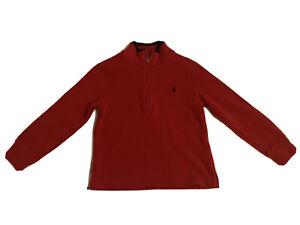 RALPH LAUREN POLO BOYS TURTLENECK SWEATER RED Size 4T