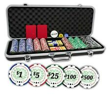 Professional Set of 500 11.5 Gram Casino Del Sol Poker Chips with