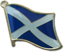Wholesale Pack of 12 Scotland Cross Country Flag Bike Hat Cap lapel Pin