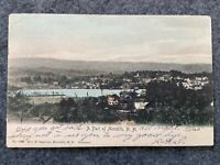 A part of Meredith New Hampshire Early 1900's Vintage Postcard