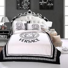 Versace Medusa Luxurious 4pcs KING Egyptian Cotton bedding set