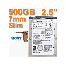 "HARD DISK HGST, WD 500GB 2.5"" 7 mm Interno Desktop HDD 500 GB PC PS3 PS4"
