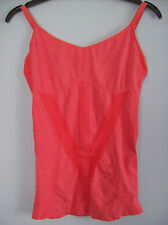 Top Ladies Falke Running Athletic Tank Top Light Hibiscus Red Small New + Boxed