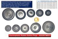 SBDs 5 Pc CAPLUGS Rubber Flush Mount Body n Sheet Metal Holes PLUGS  Assortment