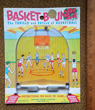 1967 BASKET-BOUNCE MODEL NO. 119 BASKETBALL BOARD GAME SMETHPORT SPECIALTY