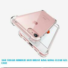 360°King Kong Heavy Duty CLEAR TPU Protector Cover For i phone X