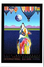 "4""x6"" Postcard Poster card 30th Albuquerque Balloon Fiesta 2001 Hot Air Repro NM"