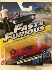 Hot Wheels Fast and Furious 6 Car No29/32 Dodge Charger Daytona 1969 1 55 Scale