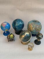 Antique/vintage Globes Map Of The World Joblot