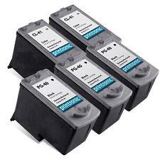 Refurb Canon PG-40 CL-41 for Canon PIXMA MP140 MP160 MP150 MP210 iP1600 5PK