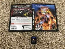 ULTIMATE MARVEL VS CAPCOM 3 - PLAYSTATION VITA , PS VITA , PSVITA , USA RARE
