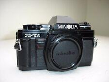 Minolta X-7A ( Black X-370 ) 35mm SLR Film Camera Body with cap SN8568964