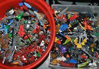 APPROX 1 KG LEGO KILO job lot Bionicle Hero Factory Galidor Constraction figures