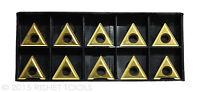 RISHET TOOLS TT 432 C5 Multi Layer TiN Coated Carbide Inserts (10 PCS)