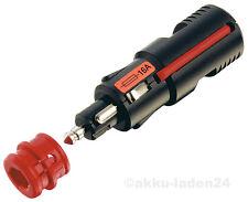 KFZ+Motorrad Universalstecker Zigarettenanzünderstecker mit 16A Sicherung