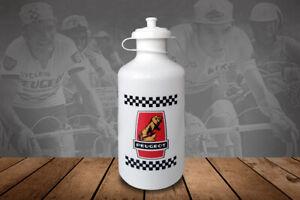 Peugeot cycling water bottle, bidon, vintage style