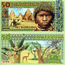 SUB SAHARA AFRICAN UNION 50 Shillings Fun-Fantasy Money ART banknote CAMEROON