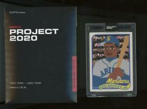 2020 Topps Project #88 Ken Griffey Jr Keith Shore RC Rookie