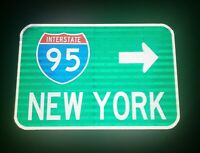 Interstate 95 NEW YORK route road sign - New York Interstate 95, Yankees, Mets
