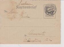 1932 Österreich-Kartenbrief,K65-Stempel 4.VII.32 ROSENBACH-WILLACH