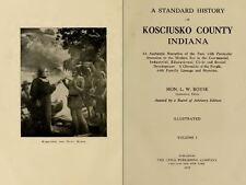 1919 KOSCIUSKO County Indiana IN, History and Genealogy Ancestry Family DVD B36