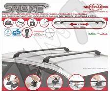 BARRE PORTATUTTO NERE STATION WAGON SW SNAKE - PER BMW X1 E84 10/2009 IN POI