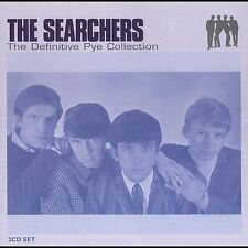 THE SEARCHERS The Definitive Pye Collection 3 CD Rare OOP Box sealed