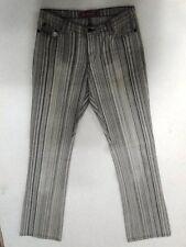 Broadway  Jeans Hose Grau Gestreift W27 L32