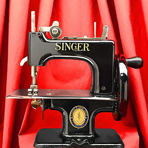 Centennial SINGER SEWHANDY 20 Child Toy Sewing Machine Restored by 3FTERS