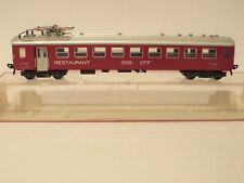 Fleischmann H0 Scale Coach 5131 SBB CFF Restaurant Car 99.9% Mint Looking Model