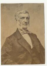 Civil War Era Unmounted CDV Albumen George Bancroft Statesman