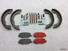 CERAMIC Pads Parking Brake Shoes Fitting KIT Jeep Cherokee 2008-2012 BRK/KK/014A