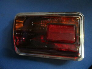 Rear Tailgate Light Alfa Gt Gta Bertone Iso Grifo Glass Lamp Glass El 12 721 Li